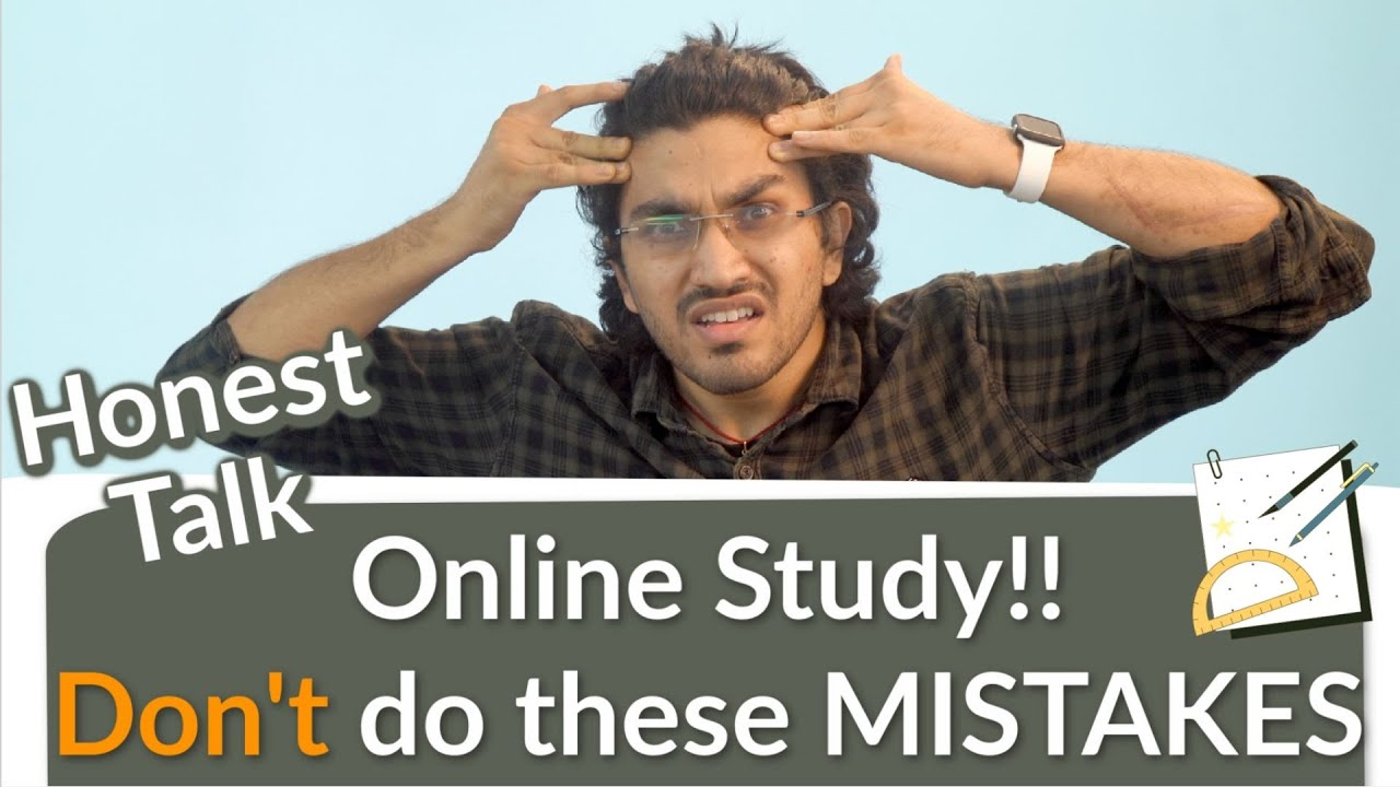 How to study Online? | Don't do these Mistakes | How to Manage School and Coaching | Honest Tal