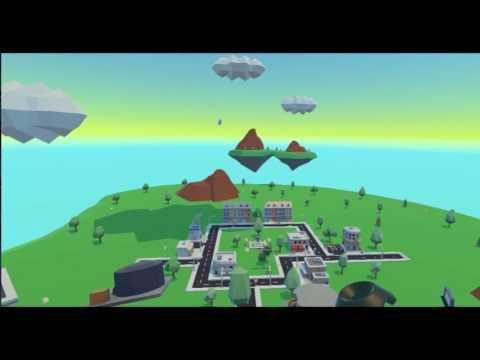 Cloud City VR   A Virtual Reality City Builder