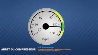 Test de freins pneumatiques - Ronde de sécurité