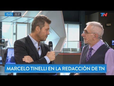 """Marcelo Tinelli pasó por """"Metadata"""""""