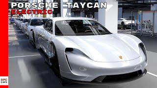 Porsche Taycan Electric Sedan