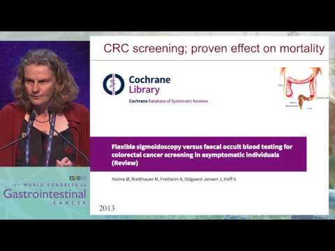 What is the impact of population screening for CRC?