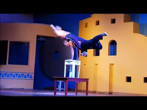 Amazing Egyptian Acrobat Brothers
