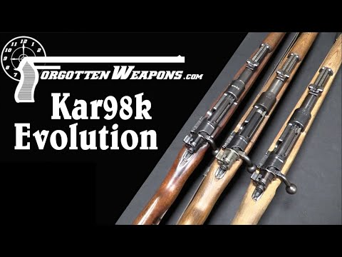 Evolution of the Karabiner 98k, From Prewar to Kriegsmodell