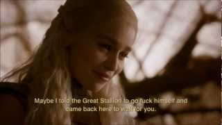 GoT - Daenerys meets Rhaego and Drogo in a vision