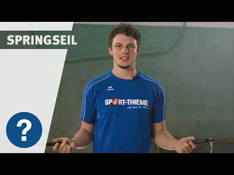 "Video: Sport-Thieme Springseil ""High Speed Rope"""