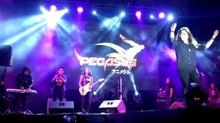 Hoy les presentamos a la Increíble Banda Pegasus アニメタル en el D...