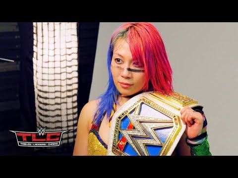 Behind the scenes of Asuka's first photoshoot as SmackDown Women's Champion: Dec. 16, 2018