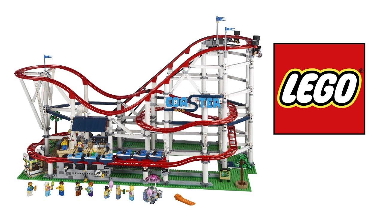 Huge New Lego Roller Coaster Set Creator Expert 10261 Youtube