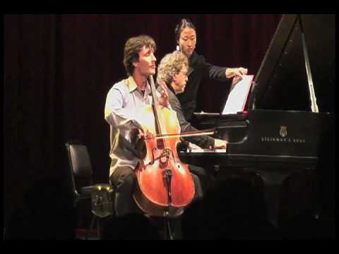Antonio Lysy & Pascal Rogé live in NYC at Symphony Space on Sept. 2009 - part 5B out of 6