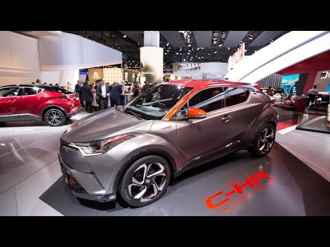 future cars 2020 C-HR Hy-Power Concept juices up Toyota's smallest SUV with hybrid power