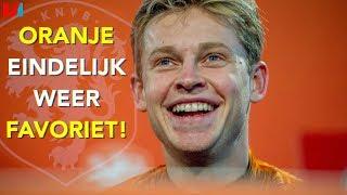 Oranje Is Eindelijk Weer Favoriet: