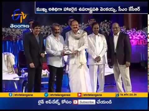 Baahubali Director SS Rajamouli Receives Akkineni National Award | Hyderabad