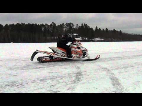 Glenn Hall testing Turbo Richie Riches XF1100t