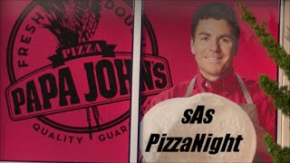 Sas Pizzanight: Papa John's Grilled Chicken Margherita & More