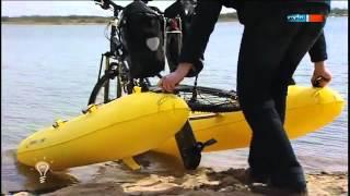 Das Fahrrad zum Wasserfahrrad machen - MDR Einfach genial - 15.05.2012