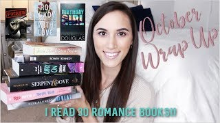 I READ 30 ROMANCE BOOKS IN OCTOBER! | October Reading Wrap Up