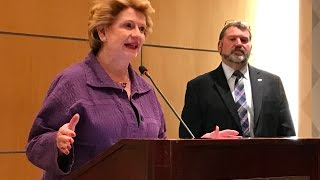 U.S.  Senator Debbie Stabenow on Farm Bill and Dairy Price Supports