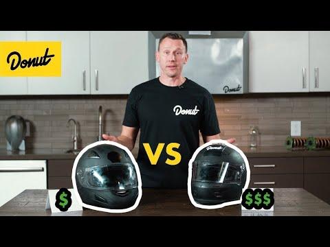 $50 Racing Helmet Vs $150 Racing Helmet | Science Garage