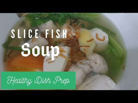 SLICE FISH SOUP //THE FAMOUS SLICE FISH SOUP IN SINGAPORE STREET #homecooking #simplecooking