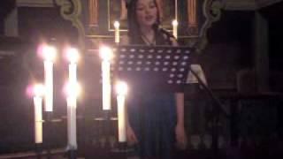 Et lys imot mørketida, framført av Nathalie Pedersen i Bø kirke 09.12.10