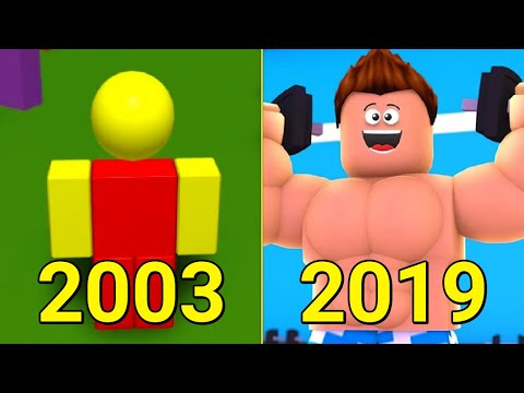 Evolution Of Roblox 2003-2019