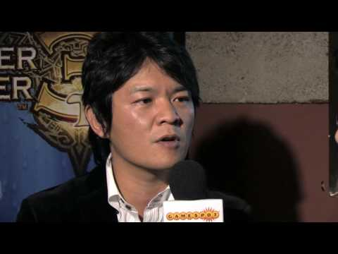 Monster Hunter Tri Interview by GameSpot