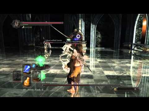 DARK SOULS II: Sorcerer vs. Sir Alonne