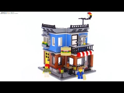 LEGO Creator Corner Deli - All 3 builds reviewed! 31050