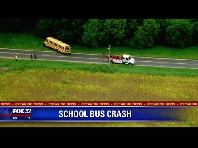 School Bus Crash in Belvidere