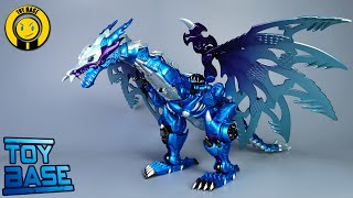 【Ice Dragon Megatron】Jiangxing Transformers BW Cold Dragon Matai Beast-01B Cryotek Dragon robot toys