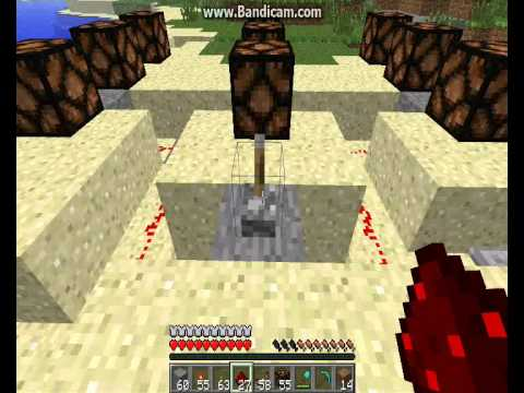 how to create redstone lamp connection youtube rh youtube com Redstone Comparator Flashing Redstone Lamp