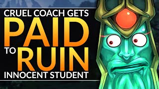 CRUEL Coach PAID TO RUIN an INNOCENT Student - Why You SUCK at Carry Wraith King - Dota 2 Pro Guide