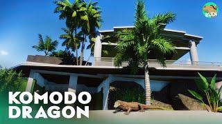 Komodo Dragon Sky Habitat - Sky Gardens Planet Zoo Speed build