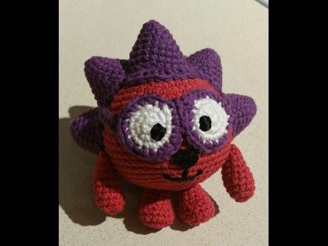 Смешарик Ежик Мастер класс .Часть 1я  Вязание крючком .amigurumi crochet