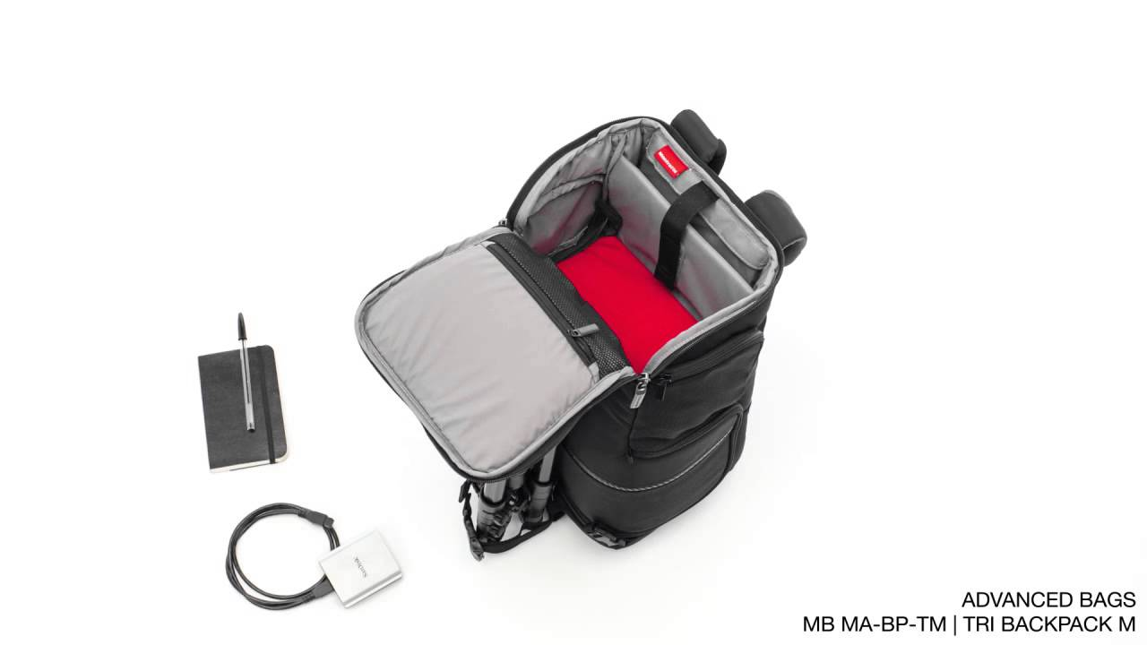 8edf67d620  Manfrotto Advanced Tri Backpack Medium MB MA BP TM Advanced Manfrotto -  YouTube