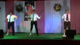 Awesome Best Comic Dance (ABCD) Ladies Sangeet Dance Performance at Indian Wedding!!