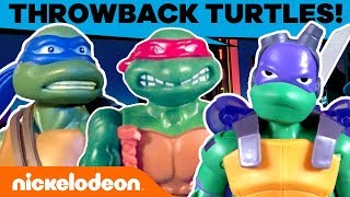 Rise of the TMNT Toys!🐢 Action Figures Through the Years   #TBT