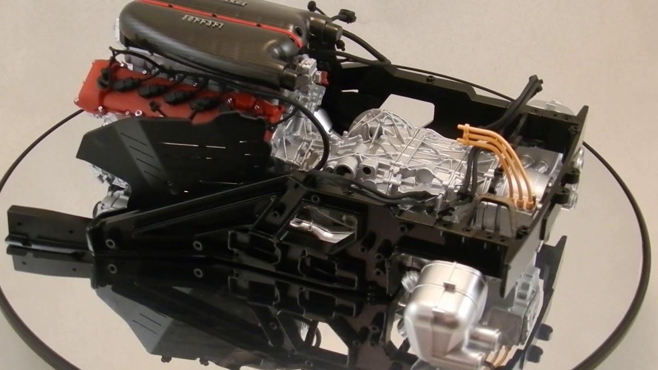 Engine Ferrari Laferrari 1 8 Centauria