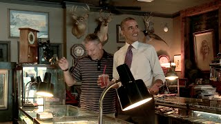 Raw Video: The President visits Main Street in Parkville, MO