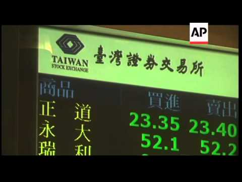 Asian stock markets down on lower Japan exports