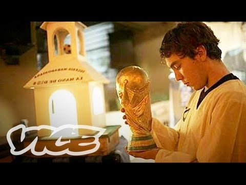 Football as a Religion: The Church of Maradona