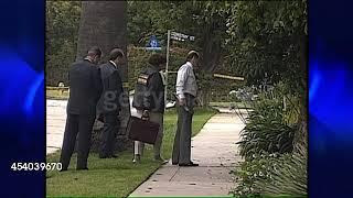 (1994) Nicole Brown Simpson Murder Crime Scene