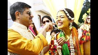 Haldi Ceremony | Fun Haldi Rasam Ceremony with our family | Indian Wedding