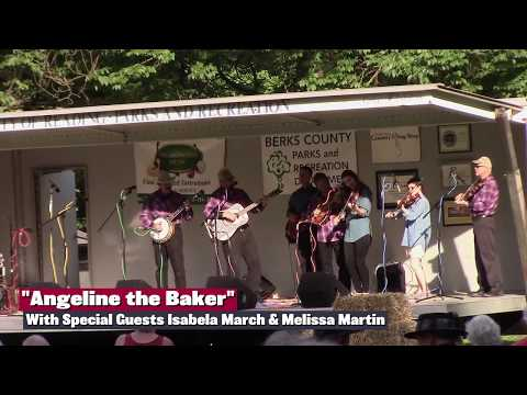 """Isabela March & Melissa Martin perform """"Angeline the Baker"""" with The Mountain Folk Band"""