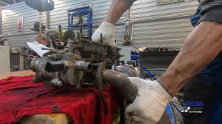 Ремонт двигателя Lada Largus