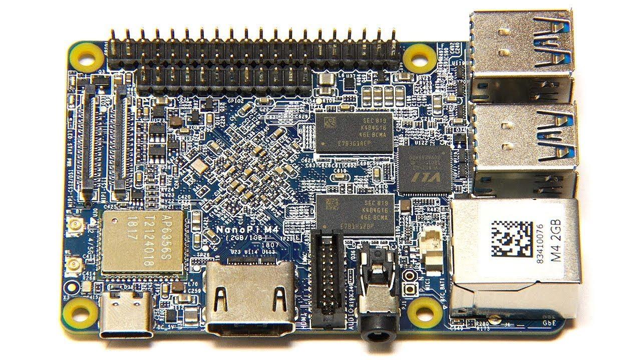 NanoPi M4 : RK3399 SBC with 4 x USB 3 0