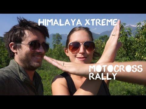 Himalaya Motocross Rally, Manali, Backpacking India (Travel Vlog)