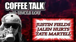 JUSTIN FIELDS | JALEN HURTS | TATE MARTELL