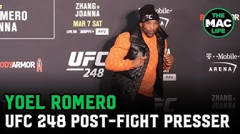 "Yoel Romero on Adesanya fight: ""It's impossible to fight a ghost""; Salsa's to prove legs okay"